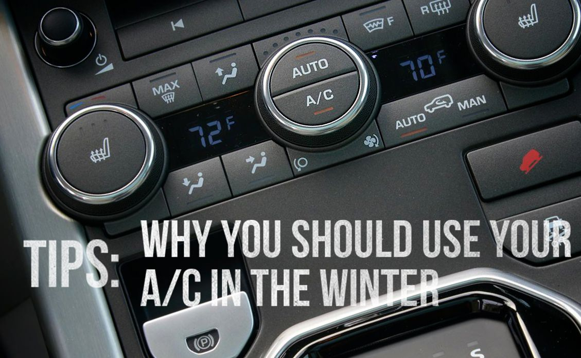 Why you should use your A/C in the winter
