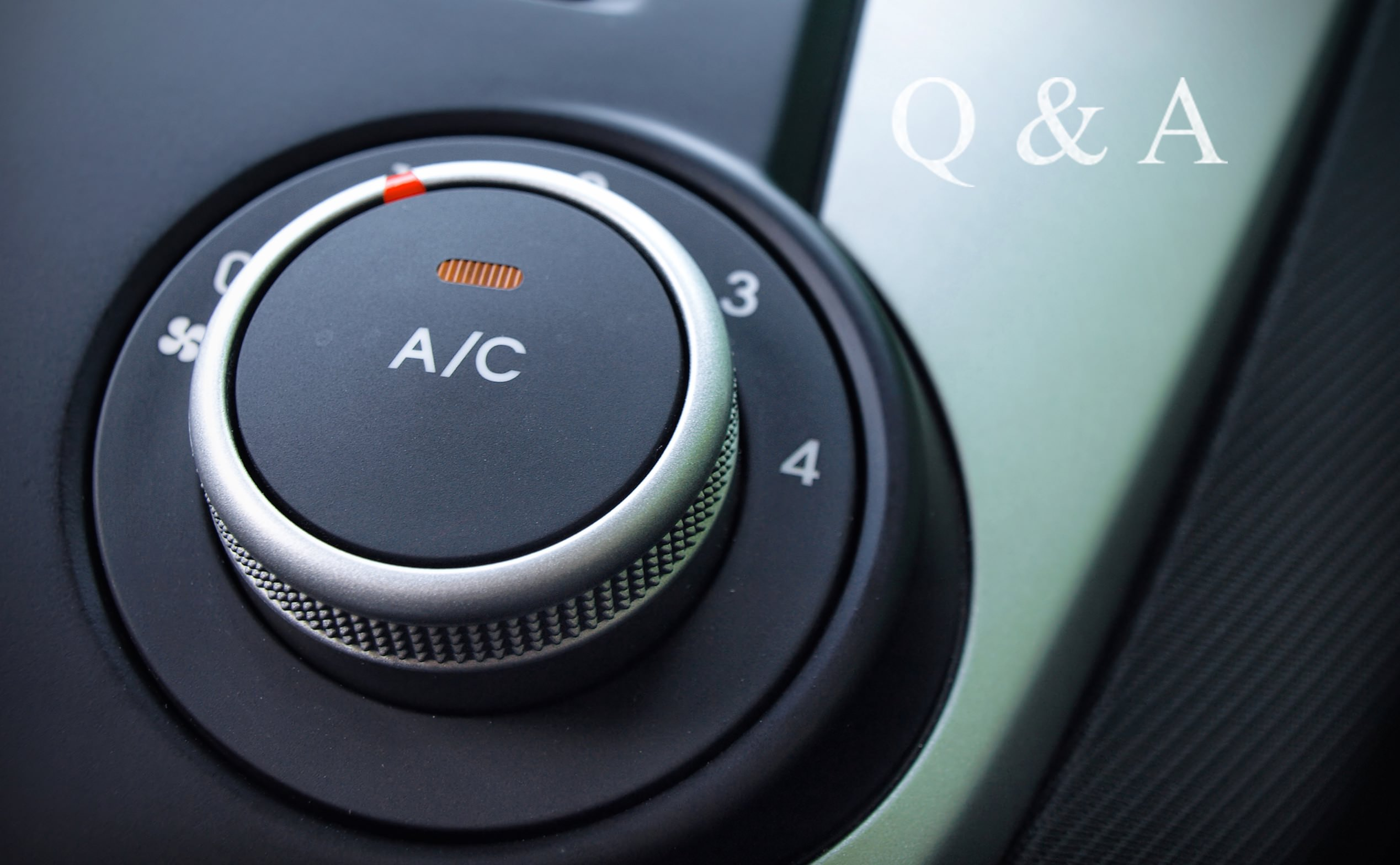 Why does my car's air conditioner smell?