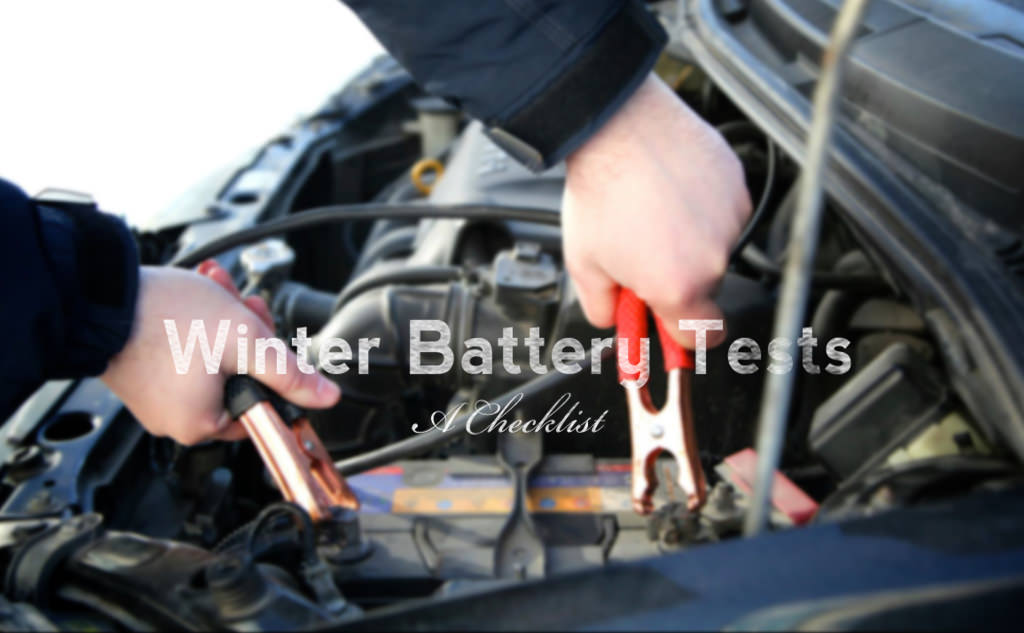 Winter Battery Tests