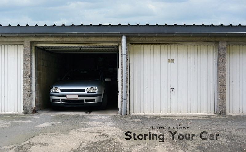 Need to Know: Storing Your Car For Winter