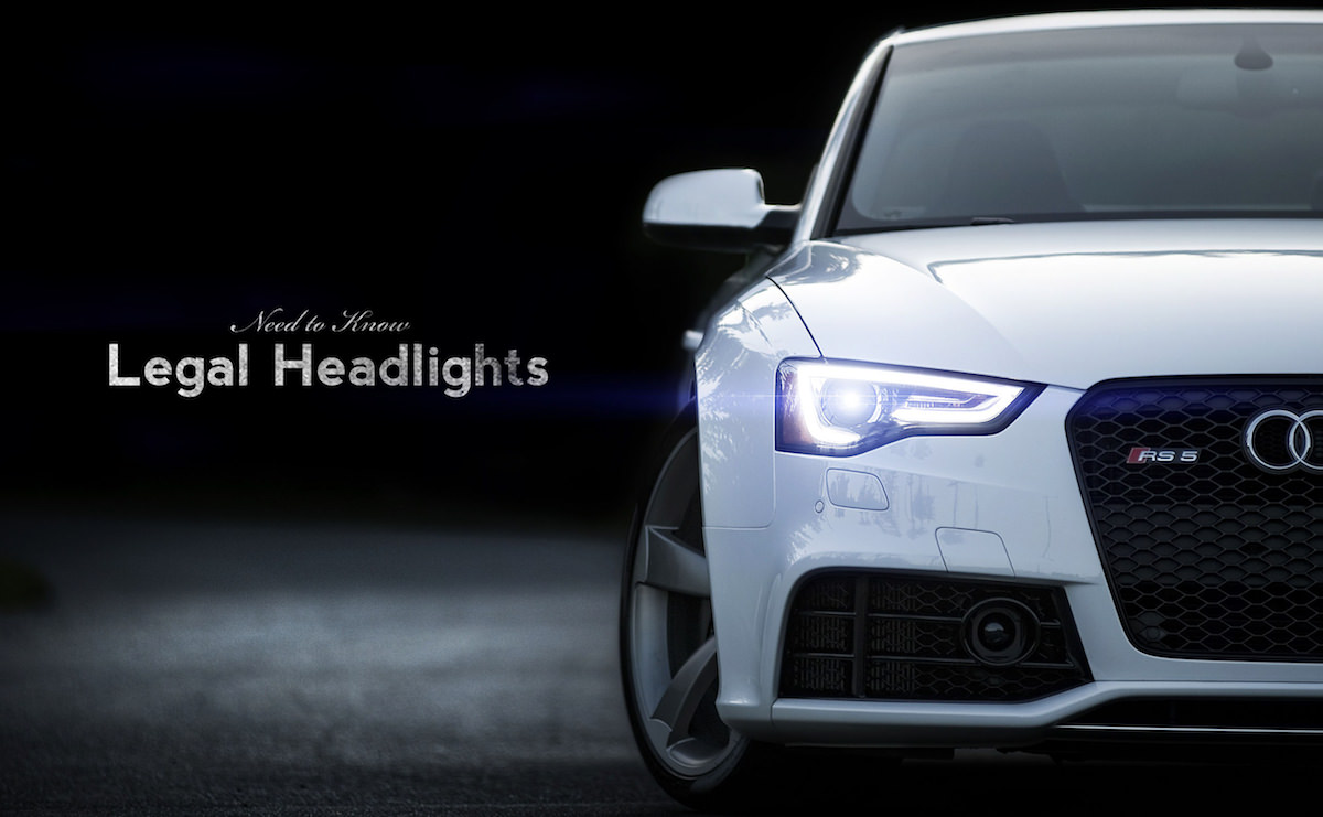 Headlights: Legality of new technology