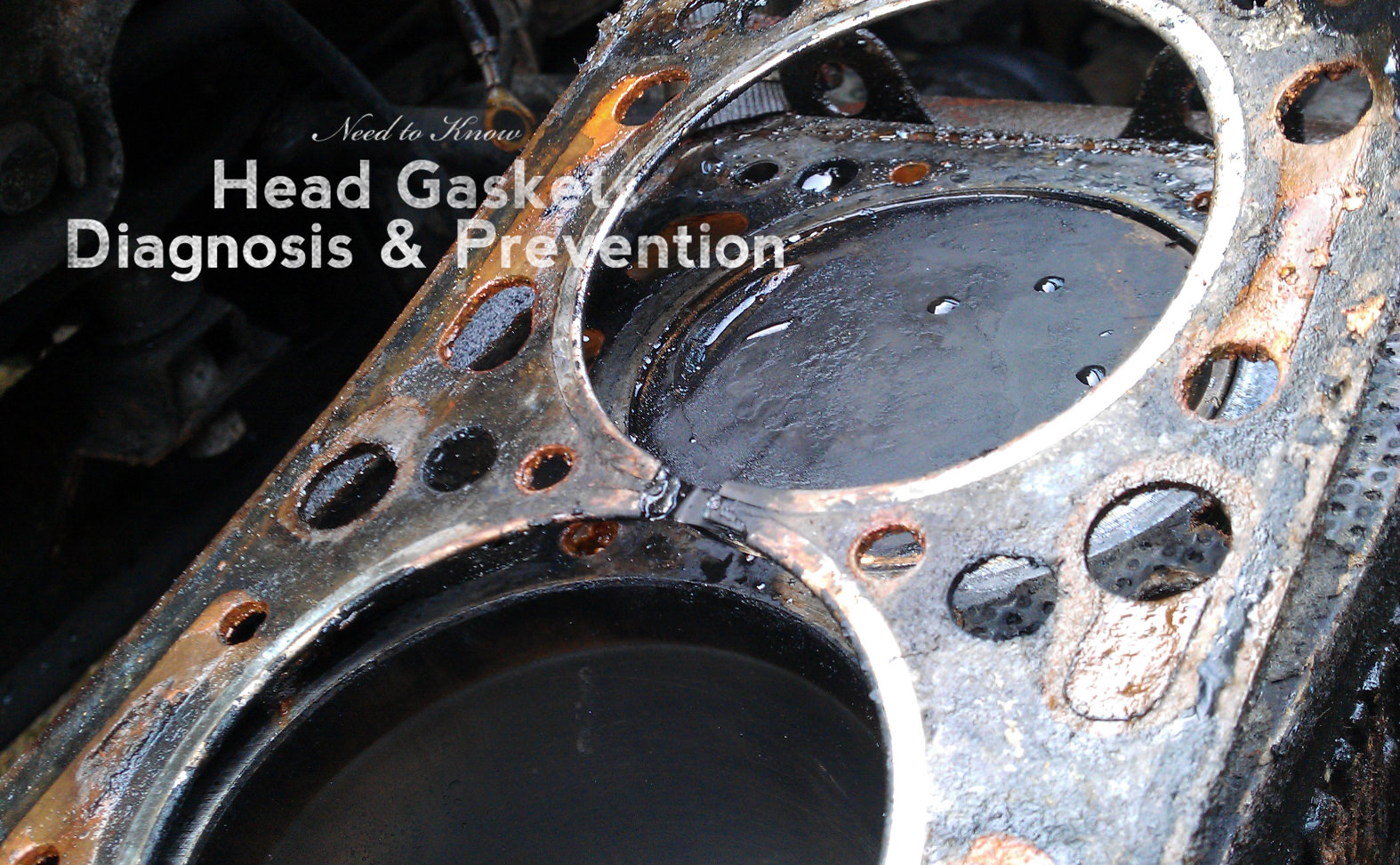 Don't Blow a Gasket