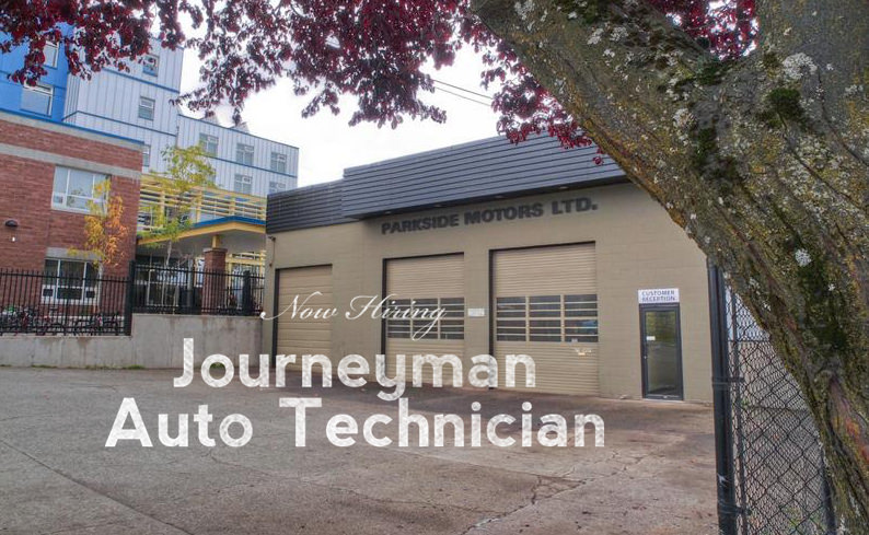 Now Hiring: Journeyman Auto Technician