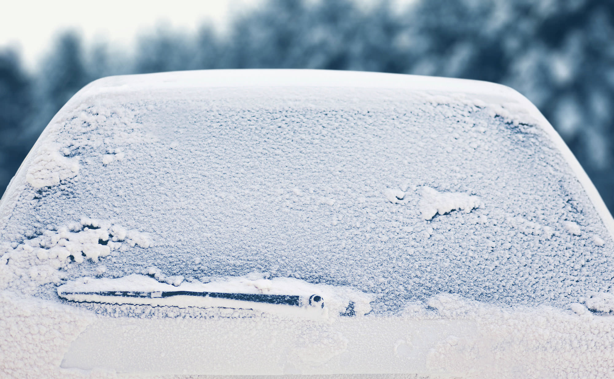 Winter Hack: Natural Windshield Defroster