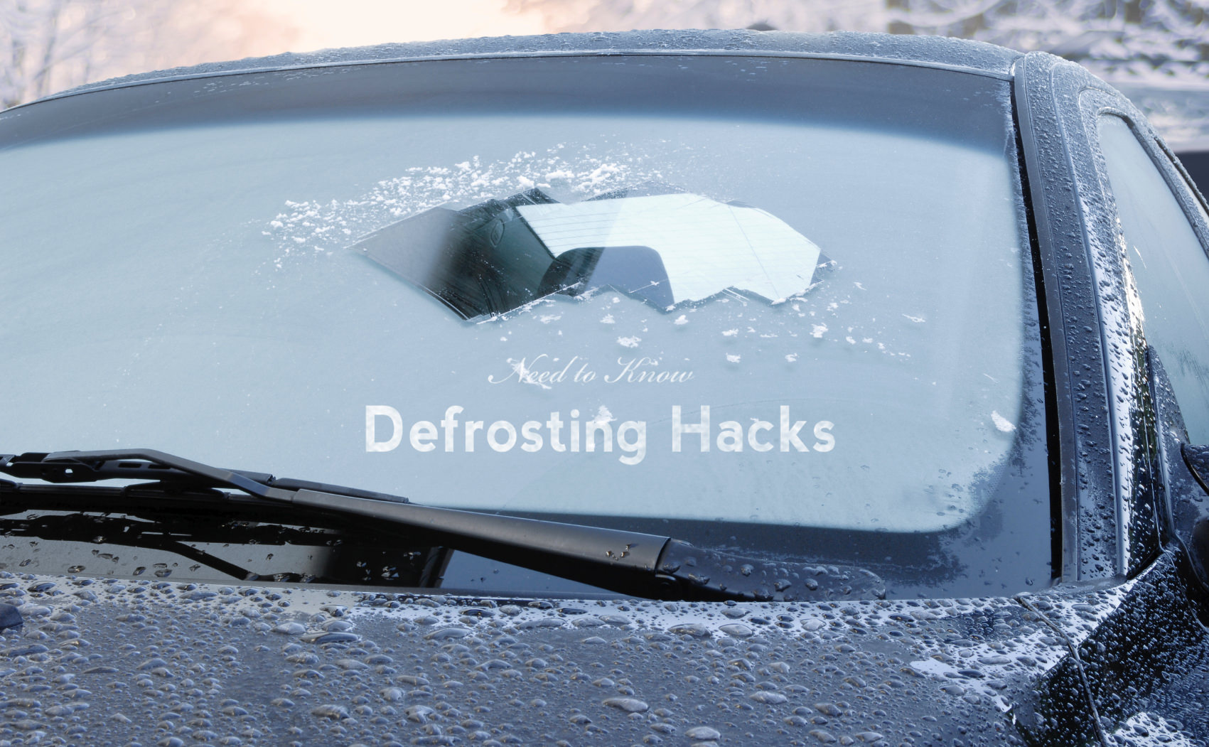 Driving Hack: Natural Defroster