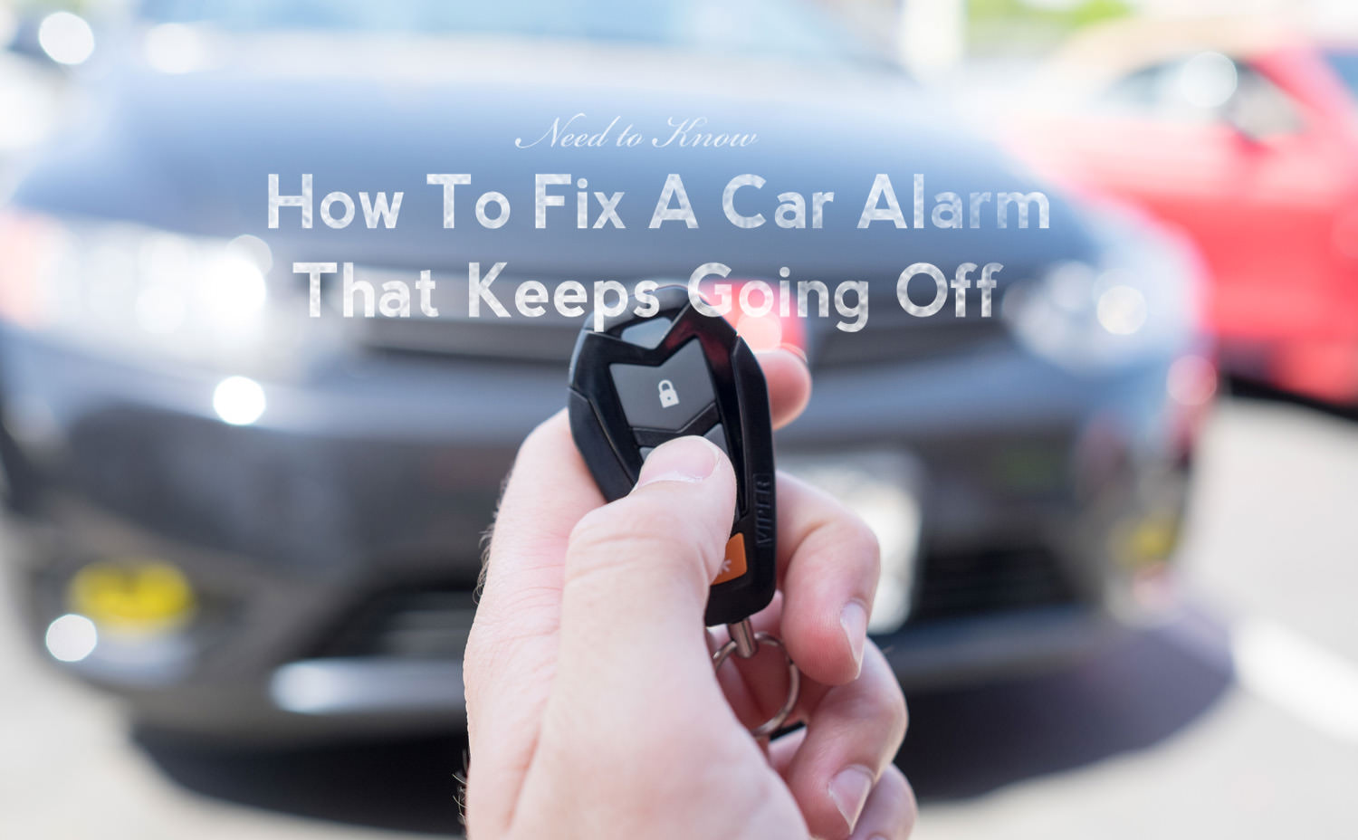 How to Fix an Alarm that Keeps Going Off