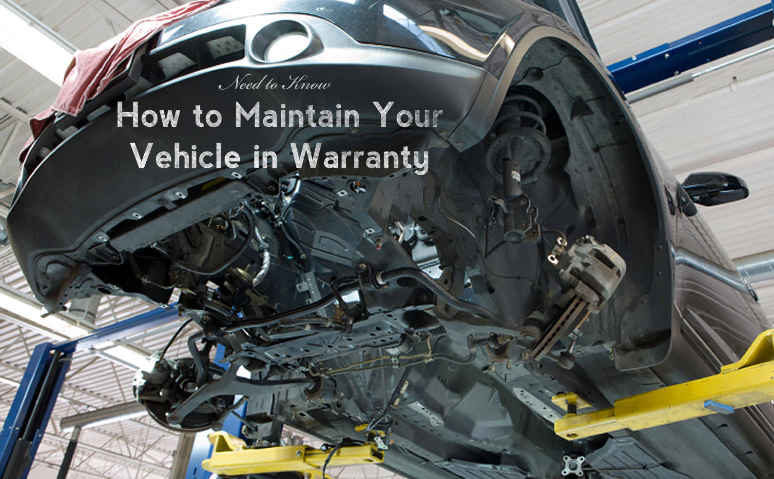 How to Maintain Your Vehicle in Warranty