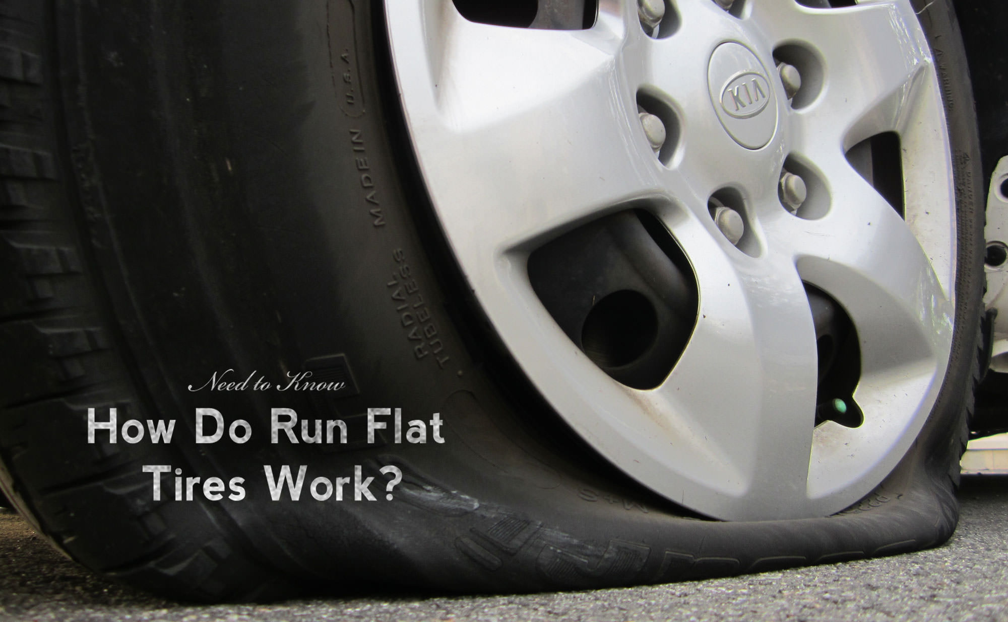 How Do Run Flat Tires Work?