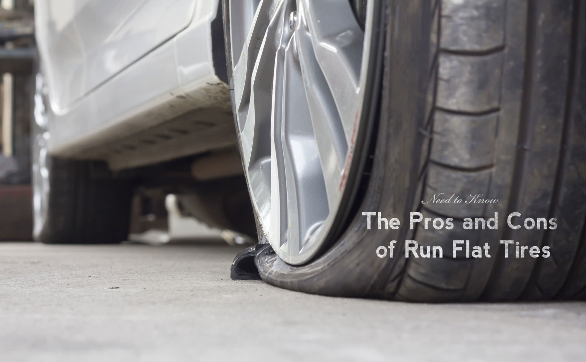 The Pros and Cons of Run Flat Tires